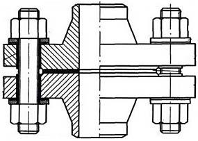 Изолирующее фланцевое соединение (ИФС)