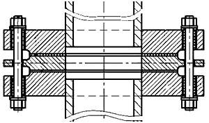 изолирующее фланцевое соединение (ИФС) из трех фланцев