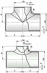 Тройники штампосварные (тройники ТШС по ТУ 102-488-05)