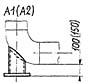 Опора трубчатая крутоизогнутых отводов (опора ТО)