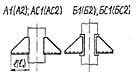 Опора вертикальных трубопроводов приварная (опора ВП)