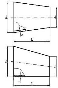 Переходы штампосварные (переходы ПШС по ТУ 102-488-05)