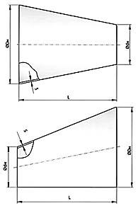Переходы cварные (ОСТ 36-22-77, ОСТ 34.10.753-97)